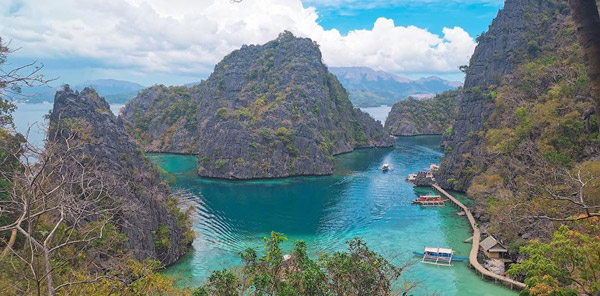 palawan adası coron kayangan lake