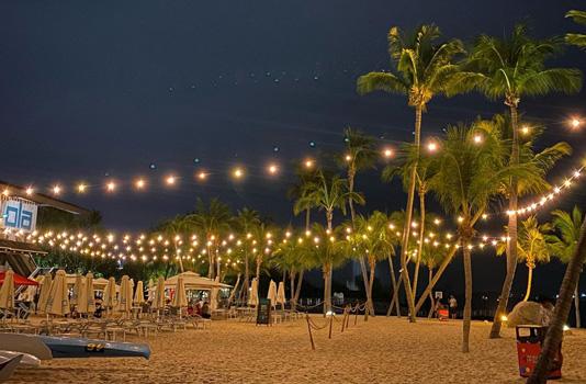 singapur gece hayatı sentosa adası plajları