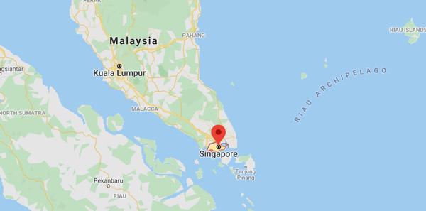 singapur haritası nerede hangi kıtada nasıl gidilir gezi rehberi