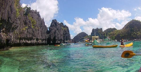 small lagoon kayaking