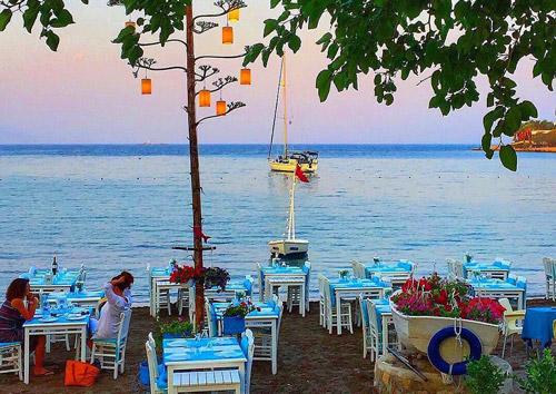 ege kıyıları tatil rotası