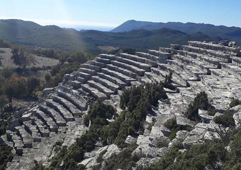 kyaneai antik kenti nerede nasıl gidilir demre