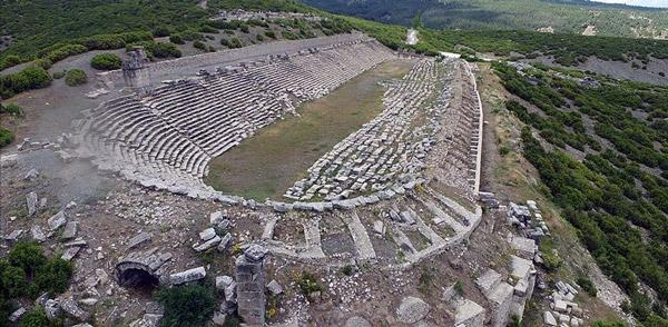 gladyatörler şehri kibyra antik kenti