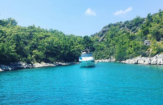 kekova tekne turları gezilecek yerler