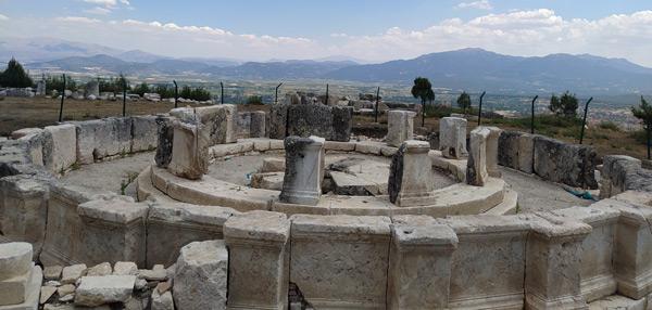 kibyra antik kenti gladyatörler şehri