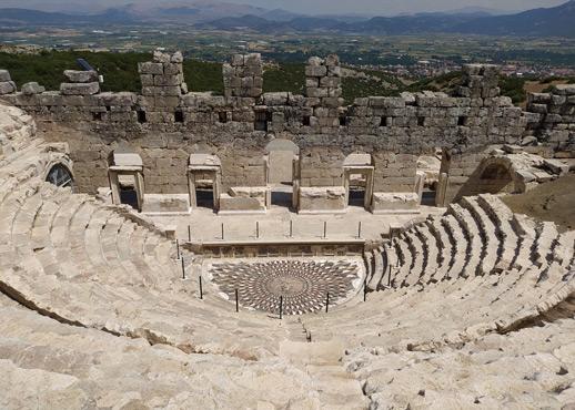 kibyra antik kenti odeion müzik evi