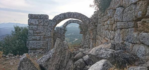 kremna antik kenti burdur bucak gezilecek yerler