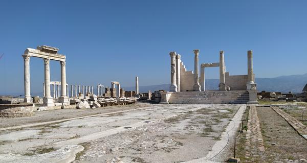 Laodikeia Antik Kenti Denizli tarihi eserleri