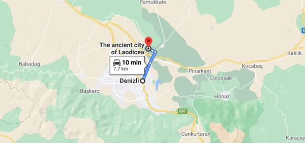 laodikya antik kenti nerede nasıl gidilir
