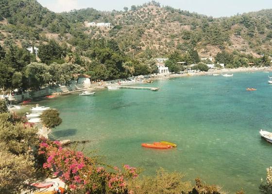 muğla mazı köyü plajı