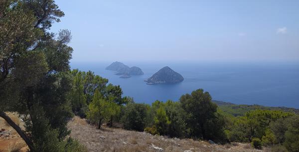 akdeniz beş adalar manzarası