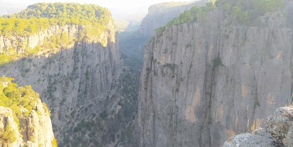 beşkonak tazı kanyonu nerede