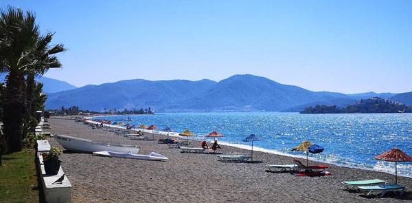 çalış plajı fethiye denize girilecek yerler tatil beldeleri