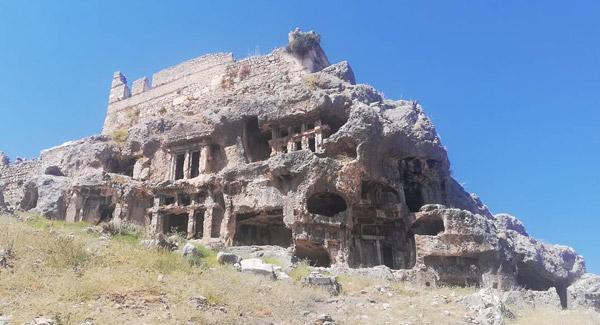 fethiye tarihi yerler tlos antik kenti gezi rehberi