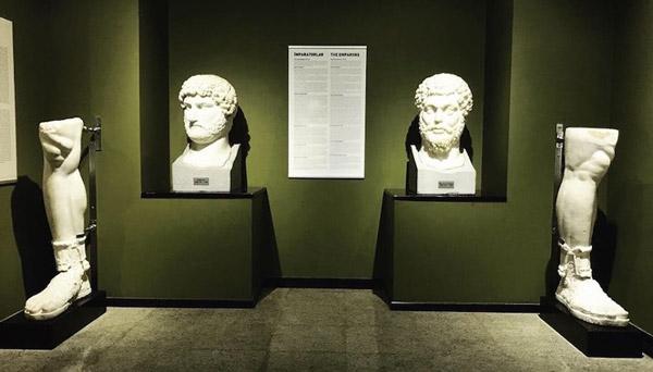 hadrian marcus aurelius heykelleri