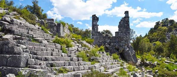 ısparta gezilecek yerler gidilecek tarihi eserler adada antik kenti