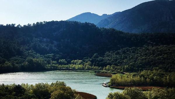 ısparta gezilecek yerler kovada gölü milli parkı doğal güzellikler