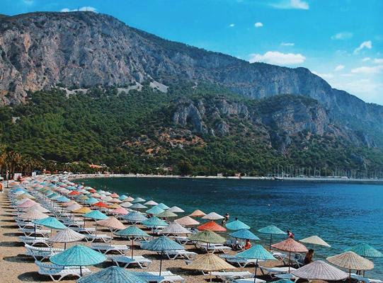 milas ören gezilecek yerler halk plajı
