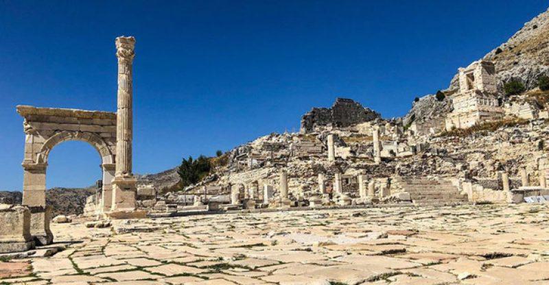 sagalassos antik kenti burdur
