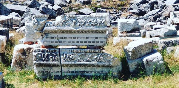 sagalassos antik kenti nekropol