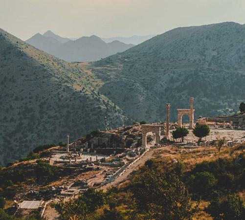 sagalassos antik kenti turu