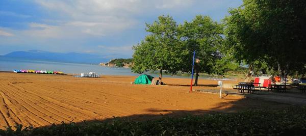 altınkum plajı sahili kamp yapılacak yerler