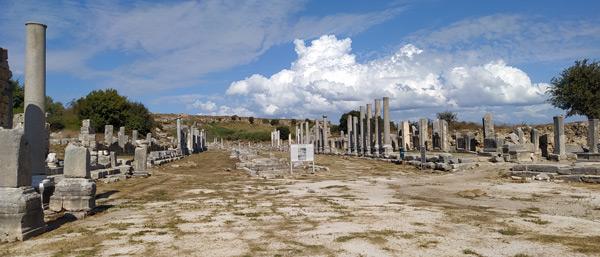 antalya gezilecek yerler tarihi pamfilya turu