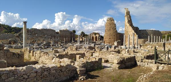 antalya perge antik kenti nerede nasıl gidilir