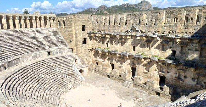 aspendos antik kenti antalya