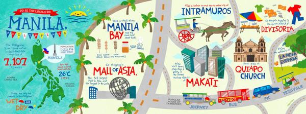 manila nerede nerenin başkenti hangi ülkede kıtada harita