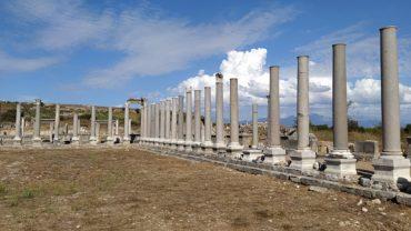 perge antik kenti nerede