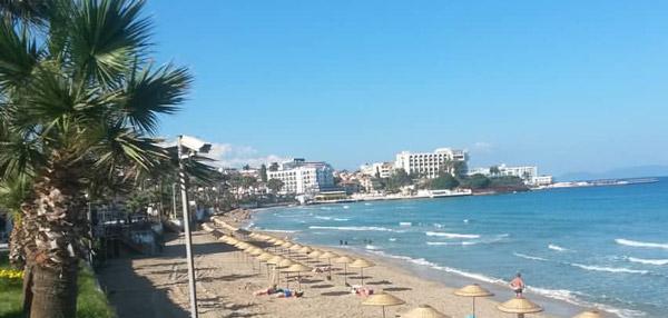 Aydın Kuşadası gezilecek yerler plajları koyları ne yapılır nerede denize girilir kadınlar plajı
