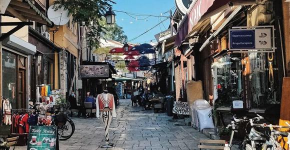 Balkan turu alışveriş Tarihi Türk Çarşısı