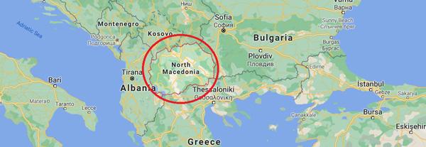 Kuzey Makedonya Cumhuriyeri Şehirleri nerede nasıl gidilir Gezilecek yerler Gezi rehberi