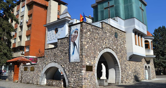 makedonya başkenti üsküp gezilecek yerler rahibe teresa evi