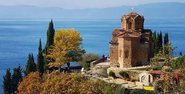 Makedonya gezilecek yerler Balkan turu gezisi tatil rotası Ohrid Gölü nerede