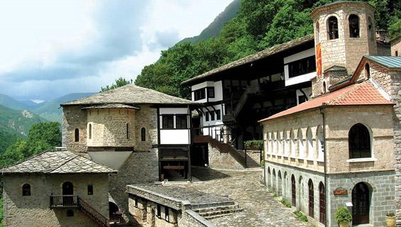 Makedonya gezilecek yerler Gostivar Saint Jovan Bigorski Monastery