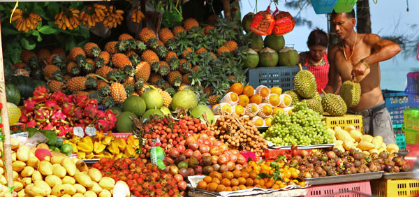 Tayland yemekleri meyveleri yemek kültürü thai mutfağı