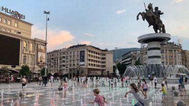 Üsküp gezi rehberi Makedonya başkenti