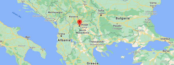 Üsküp nerede hangi ülkede nerenin başkenti Makedonya gezilecek yerler