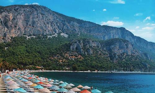 Akyaka gezi rehberi Plajları Koyları Muğla Milas Ören Halk Plajı