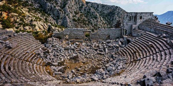 Antalya gezilecek yerler tarihi eserler Termessos nerede