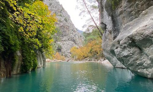 Antalya Kemer Göynük Kanyonu nerede gezilecek yerler