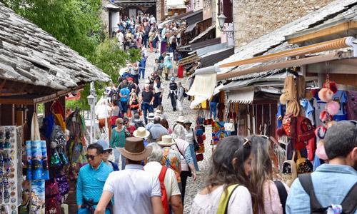 Bosna Hersek Mostar gezilecek yerler Eski Çarşı