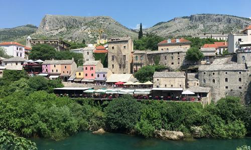 Bosna Hersek Mostar gezilecek yerler gezi rehberi