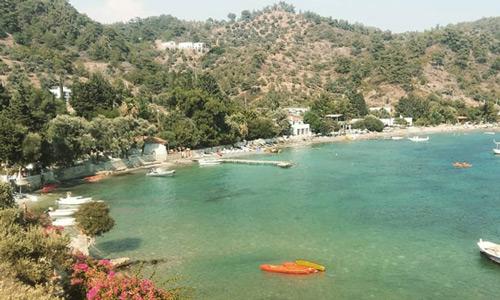 Denize girilecek sakin yerler Bodrum Mazı Köyü