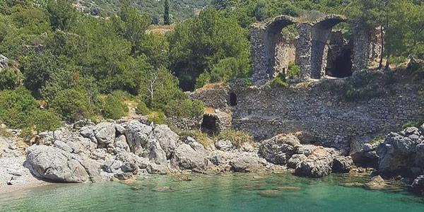 Gazipaşa plajları İotape Antik Kenti Aytap Antalya Alanya çevresinde gezilecek yerler