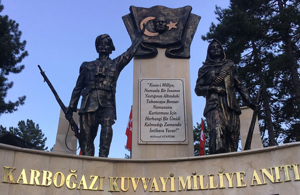 Karboğazı Kuvayi Milliye Anıtı nasıl bir yer