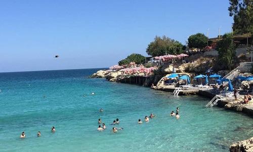 Mersin plajları Yapraklı Koy Denize nerede girilir