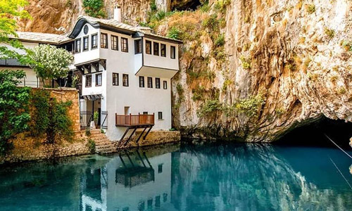 Mostar gezi rehberi Blagaj Tekkesi
